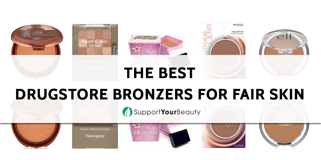 The Best Drugstore Bronzers for Fair Skin